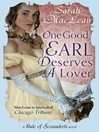 One Good Earl Deserves a Lover (eBook): Rules of Scoundrels Series, Book 2